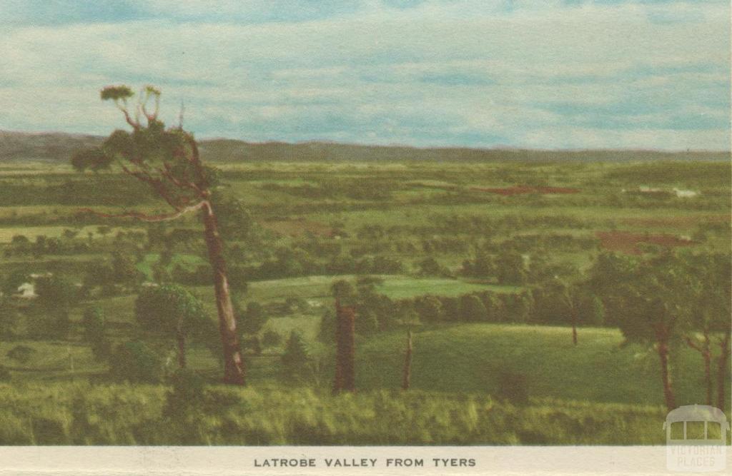Latrobe Valley from Tyers