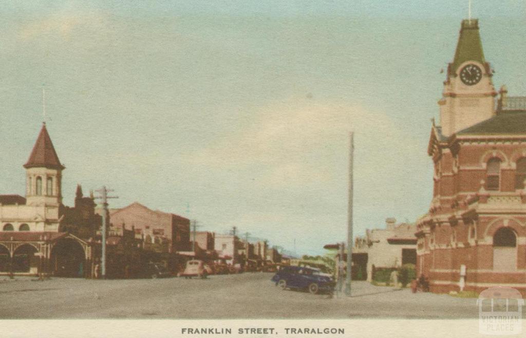 Franklin Street, Traralgon