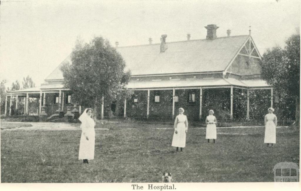 The Hospital, Warracknabeal, 1925