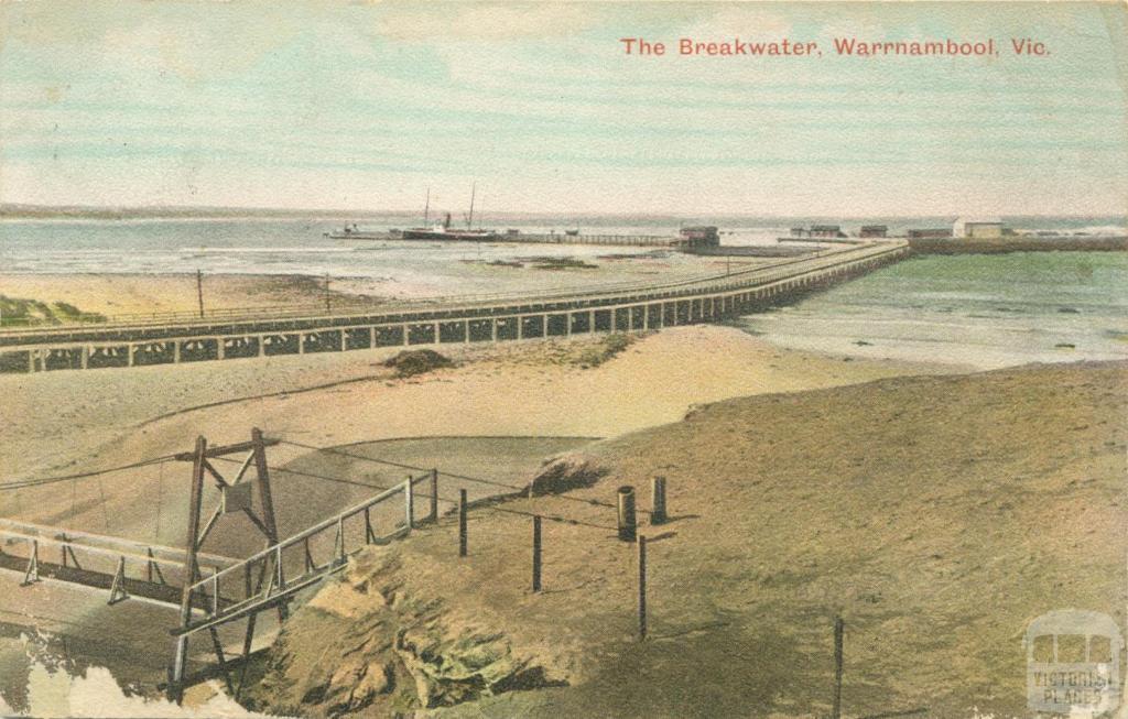 The Breakwater, Warrnambool, 1906