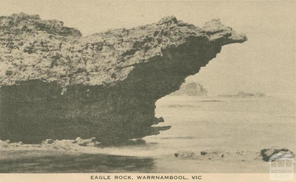 Eagle Rock, Warrnambool, 1945