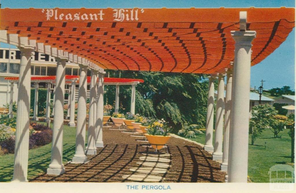 The Pergola, Fletcher Jones, Pleasant Hill, Warrnambool