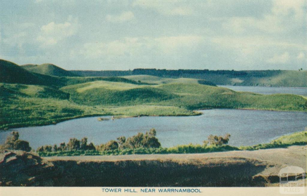 Tower Hill near Warrnambool, 1960