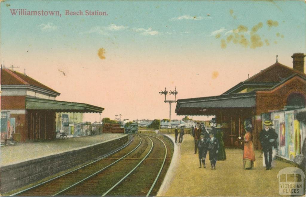 Williamstown, Beach Station