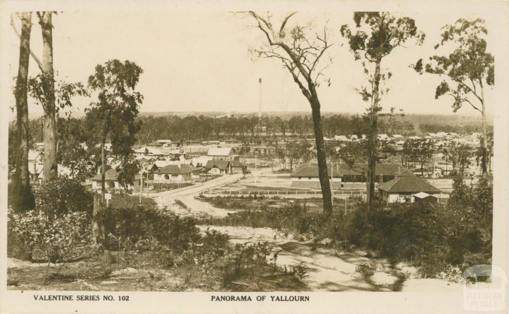 Panorama of Yallourn