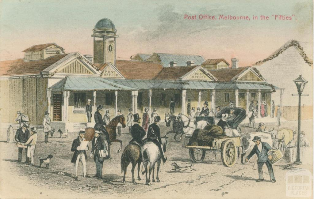 Post Office, Bourke Street, Melbourne