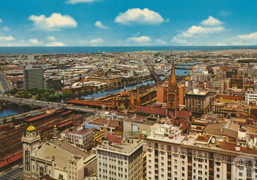 Panoramic view, Melbourne