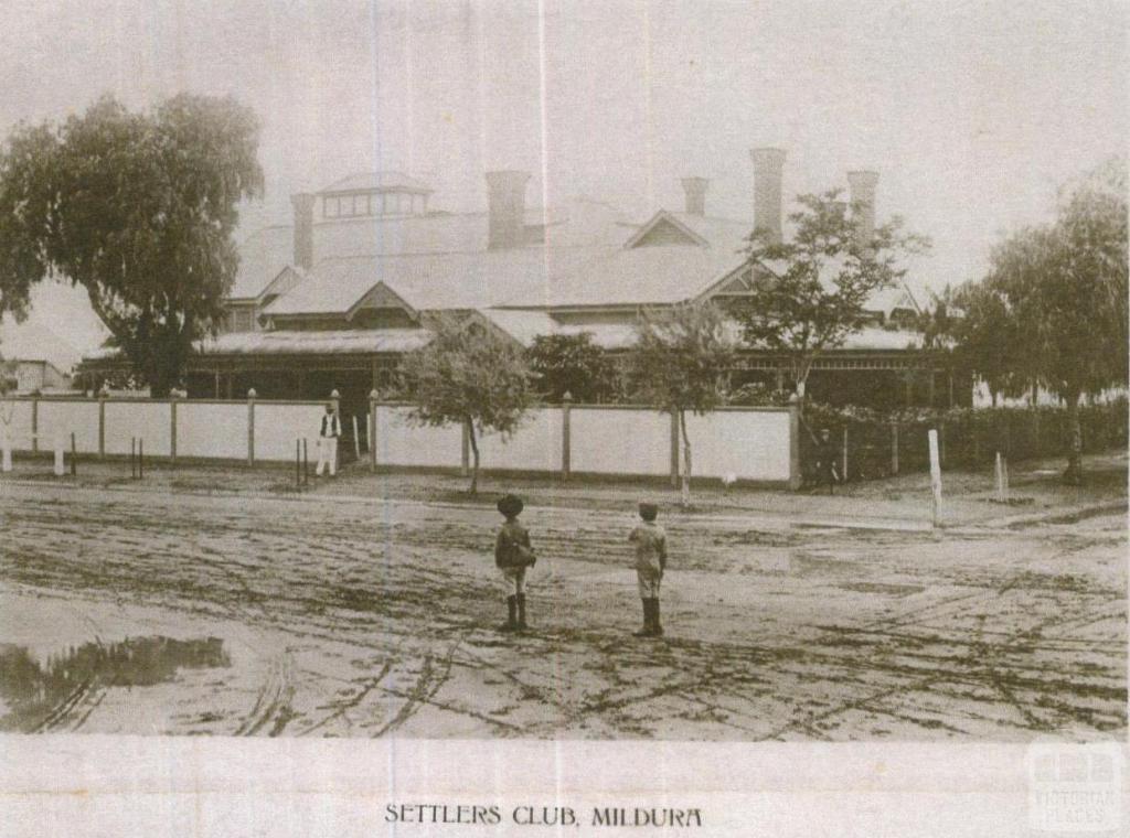 Settlers Club, Mildura
