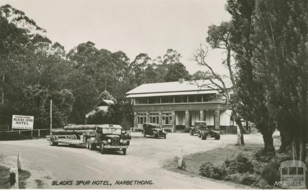 Blacks Spur Hotel, Narbethong