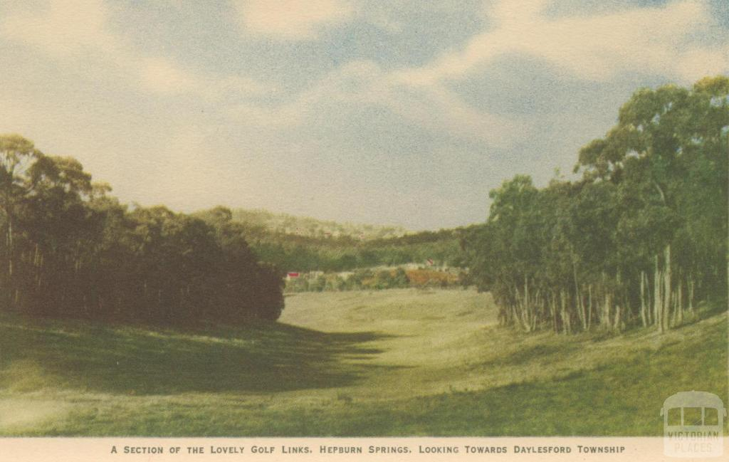 Golf Links, Hepburn Springs, 1948