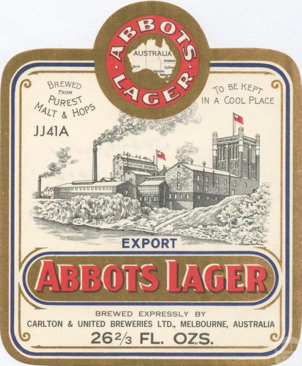 Abbots Lager, Abbotsford