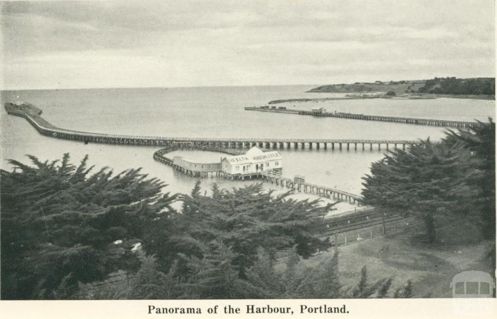 Panorama of the Harbour, Portland