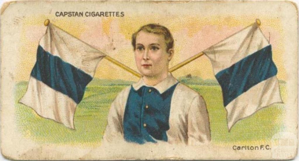 Carlton Football Club, Capstan Cigarettes Card